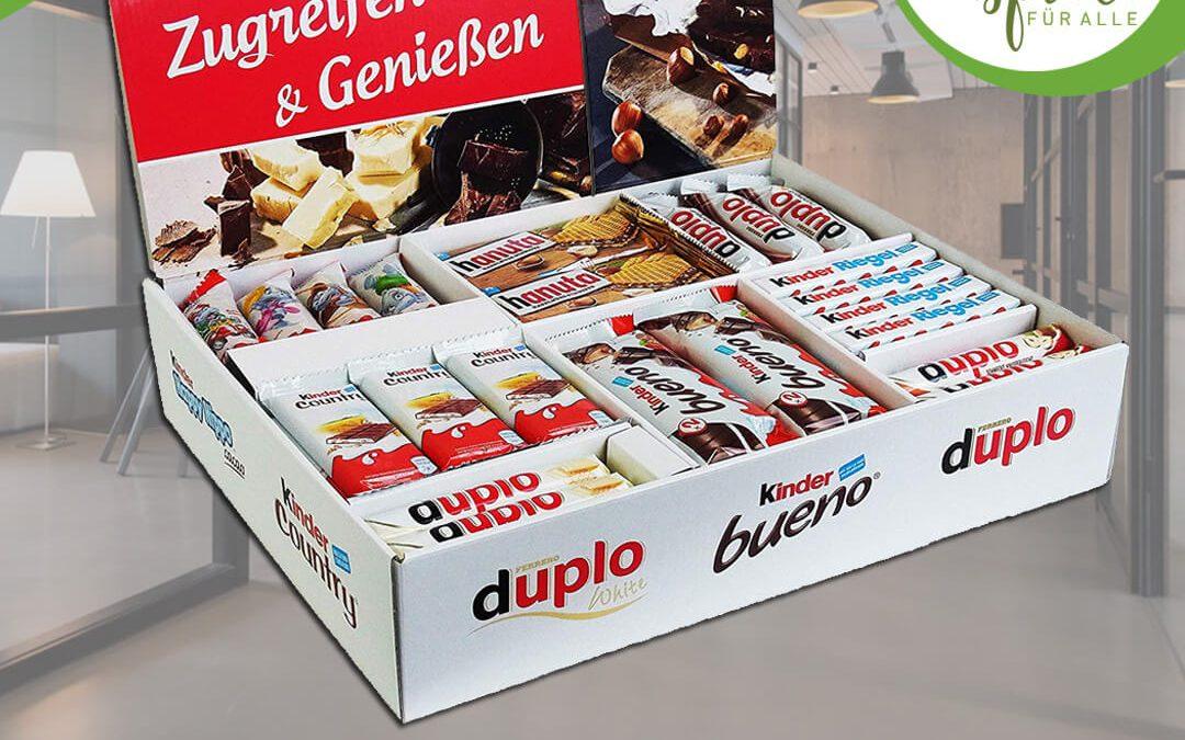XL-Süßigkeitenbox Gewinnspiel