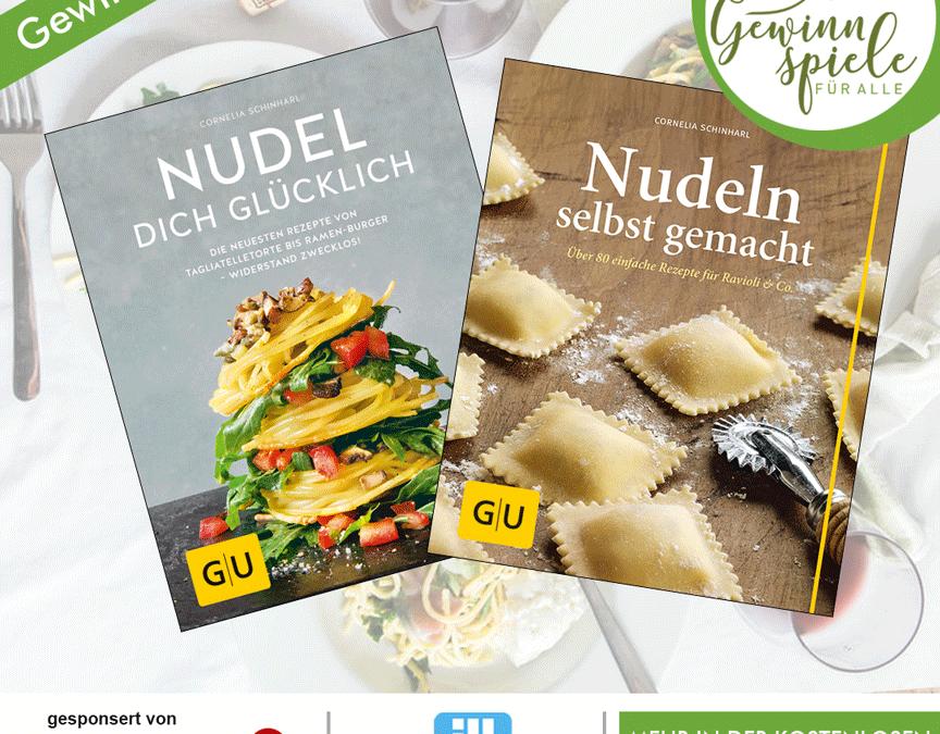 Nudelkochbuch Gewinnspiel