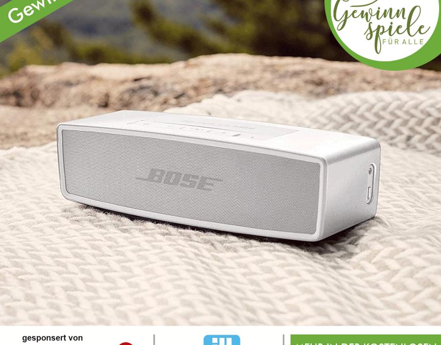 Bose Lautsprecher Gewinnspiel